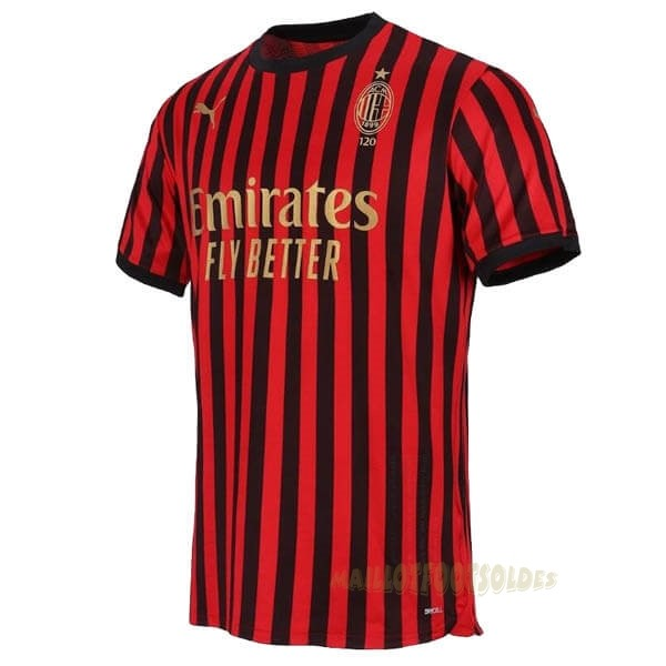Pas Cher Maillot Foot PUMA Maillot AC Milan 120th Rouge