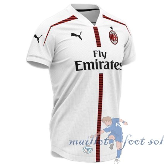 Pas Cher Maillot Foot Puma Concept Maillot AC Milan 2019 2020 Blanc