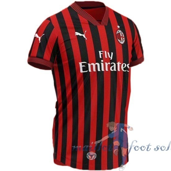 Pas Cher Maillot Foot Puma Concept Maillot AC Milan 2019 2020 Rouge