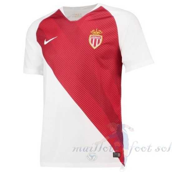 Pas Cher Maillot Foot Nike Domicile Maillot As Monaco 2018 2019 Blanc