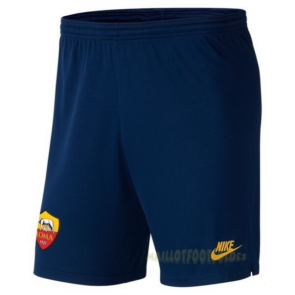 Pas Cher Maillot Foot Nike Third Pantalon As Roma 2019 2020 Bleu