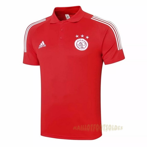 Pas Cher Maillot Foot adidas Polo Ajax 2020 2021 Rouge