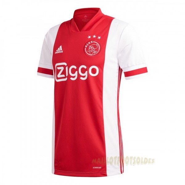Pas Cher Maillot Foot adidas Domicile Maillot Ajax 2020 2021 Rouge