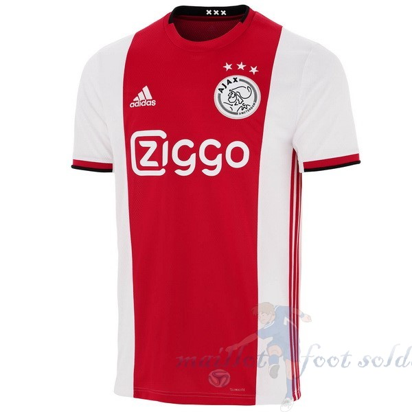Pas Cher Maillot Foot adidas Domicile Maillot Ajax 2019 2020 Rouge