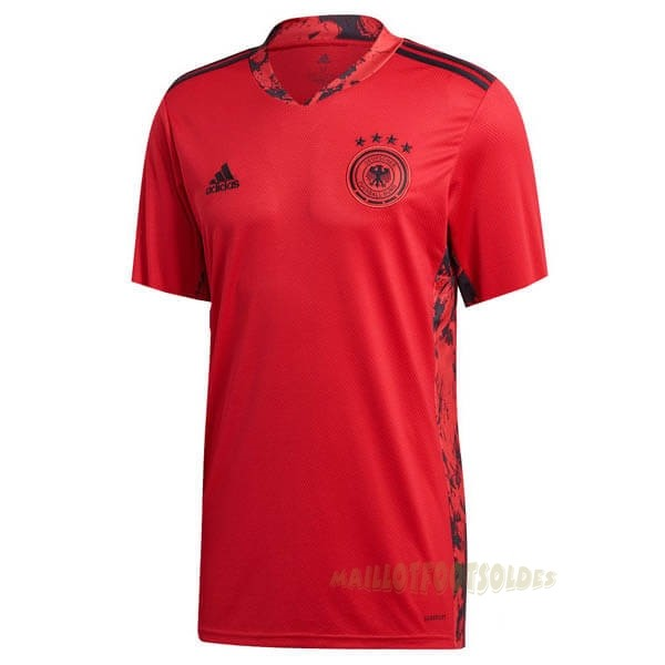 Pas Cher Maillot Foot adidas Domicile Maillot Gardien Allemagne 2020 Rouge