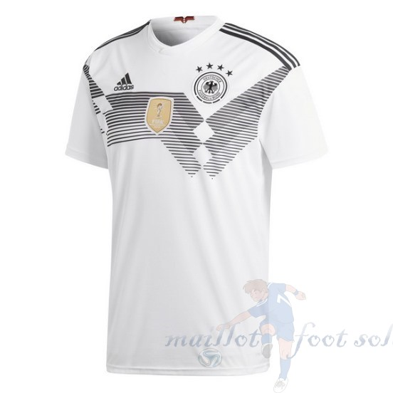 Pas Cher Maillot Foot Adidas Thailande Domicile Maillot Allemagne 2018 Blanc