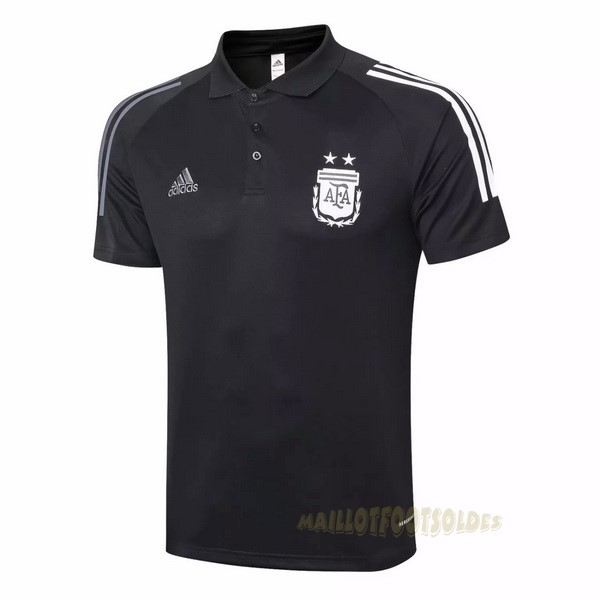 Pas Cher Maillot Foot adidas Polo Argentine 2020 2021 Noir