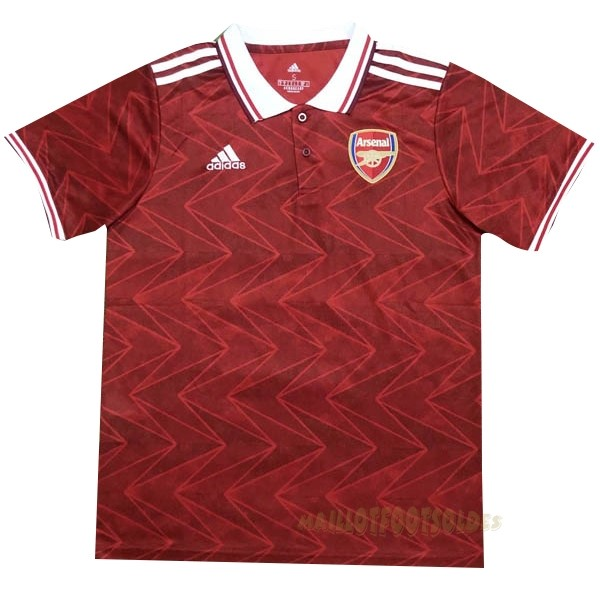 Pas Cher Maillot Foot adidas Polo Arsenal 2020 2021 Rouge