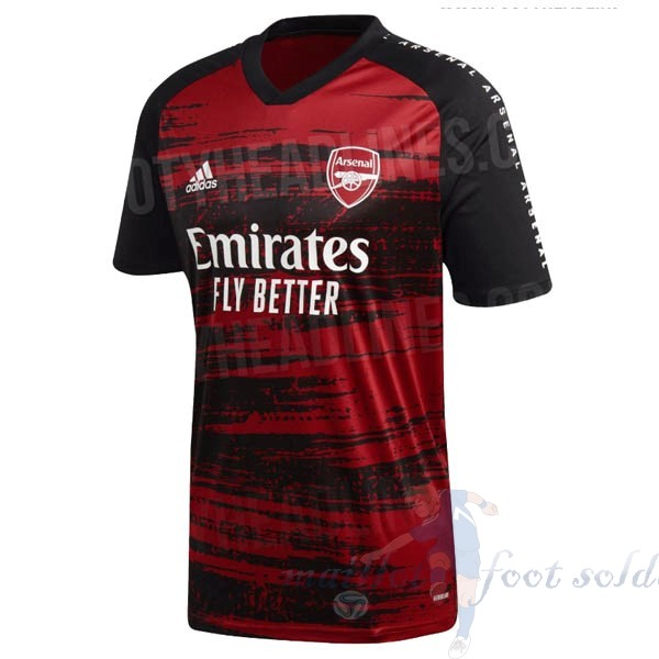 Pas Cher Maillot Foot adidas Pre Match Maillot Arsenal 2020 2021 Rouge