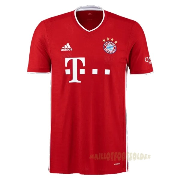 Pas Cher Maillot Foot adidas Thailande Domicile Maillot Bayern Munich 2020 2021 Rouge