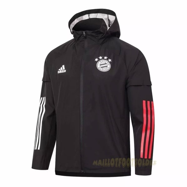 Pas Cher Maillot Foot adidas Coupe Vent Bayern Munich 2020 2021 Noir Rouge