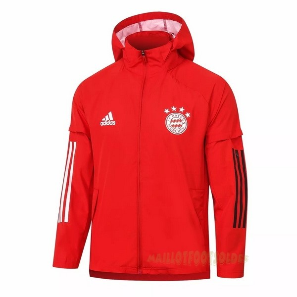 Pas Cher Maillot Foot adidas Coupe Vent Bayern Munich 2020 2021 Rouge