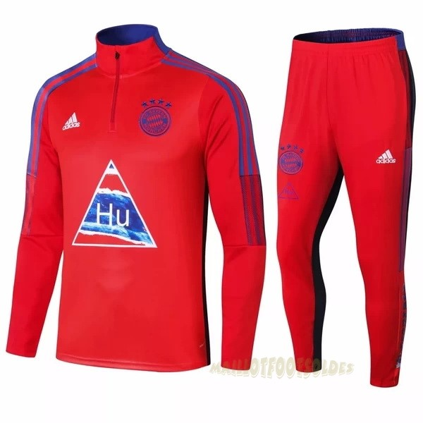 Pas Cher Maillot Foot adidas Survêtements Bayern Munich 2020 2021 Rouge