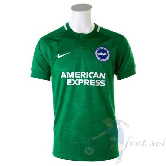 Pas Cher Maillot Foot Nike Exterieur Maillot Brighton 2018 2019 Vert