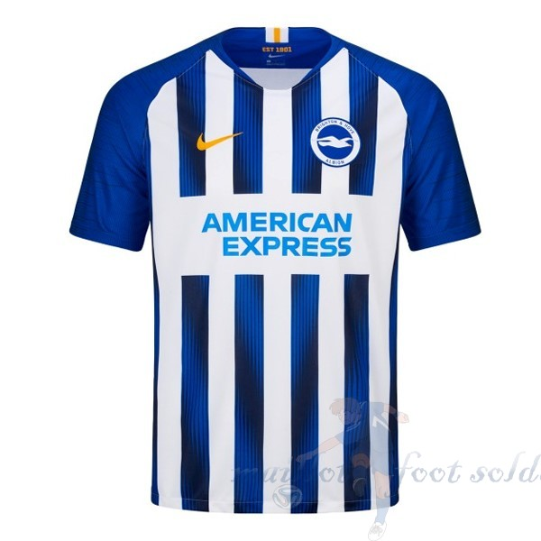 Pas Cher Maillot Foot Nike Domicile Maillot Brighton 2019 2020 Bleu