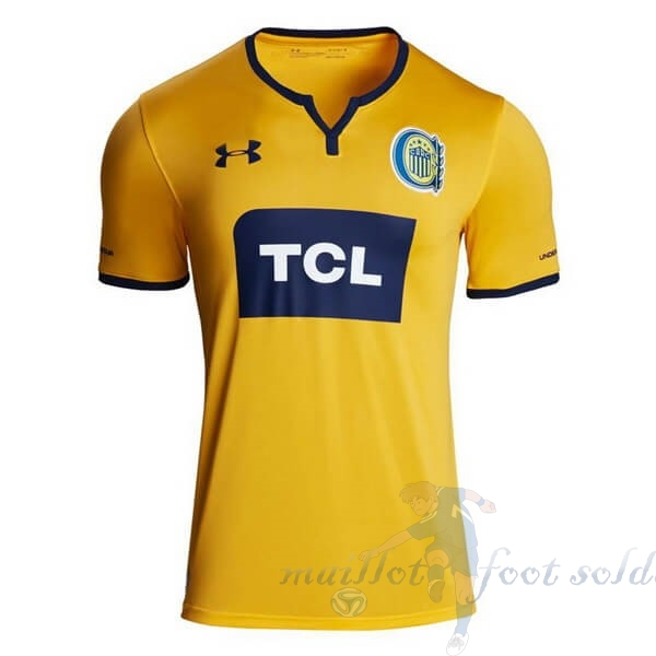 Pas Cher Maillot Foot Under Armour Exterieur Maillot CA Roserio Central 2019 2020 Jaune