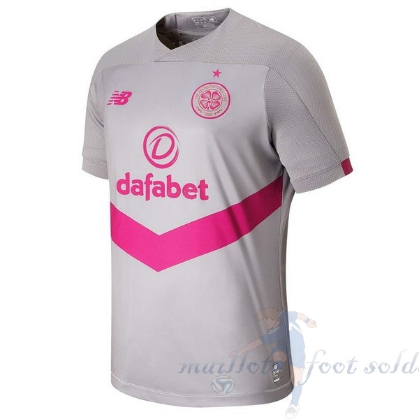 Pas Cher Maillot Foot New Balance Third Maillot Celtic 2019 2020 Gris
