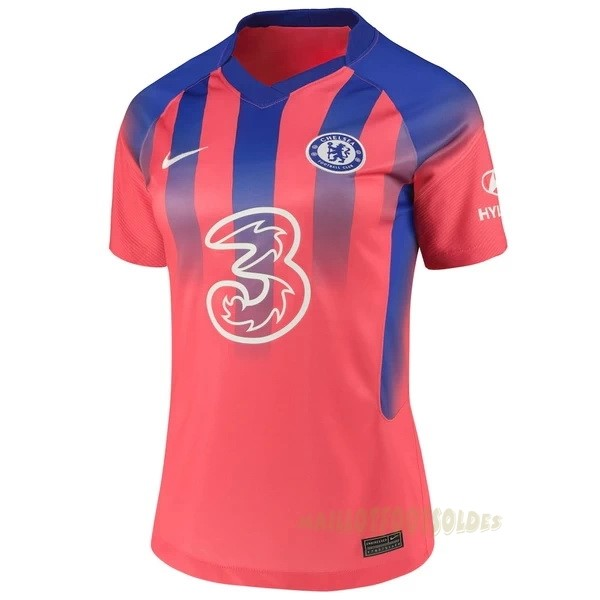 Pas Cher Maillot Foot Nike Third Maillot Femme Chelsea 2020 2021 Orange