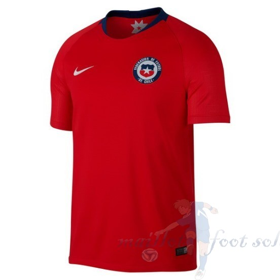 Pas Cher Maillot Foot Nike Domicile Maillot Chili 2018 Rouge