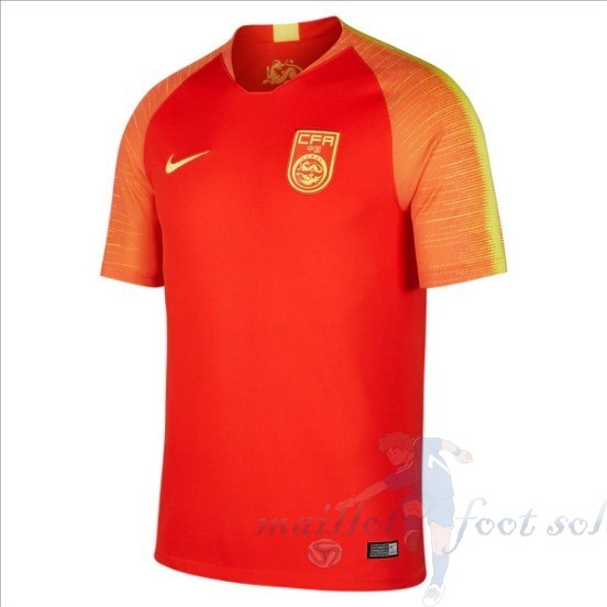 Pas Cher Maillot Foot Nike Domicile Maillot Chine 2018 Rouge