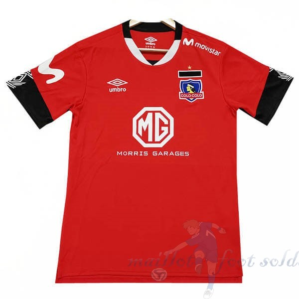 Pas Cher Maillot Foot Tenis Charly Third Maillot Colo Colo 2019 2020 Rouge