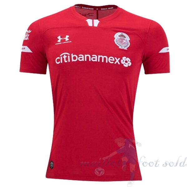 Pas Cher Maillot Foot Under Armour Domicile Maillot Deportivo Toluca 2019 2020 Rouge