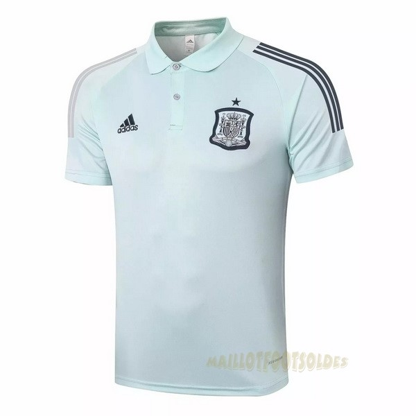 Pas Cher Maillot Foot adidas Polo Espagne 2020 Vert