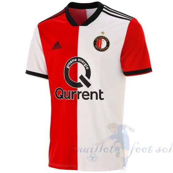 Pas Cher Maillot Foot Adidas Domicile Maillot Feyenoord Rotterdam 2018 2019 Rouge