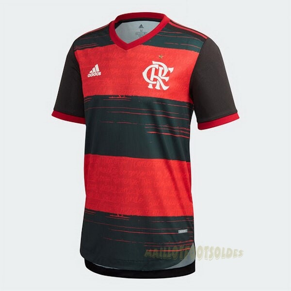Pas Cher Maillot Foot adidas Domicile Maillot Flamengo 2020 2021 Rouge