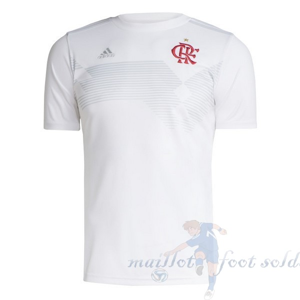 Pas Cher Maillot Foot adidas Maillot Flamengo 70th Blanc