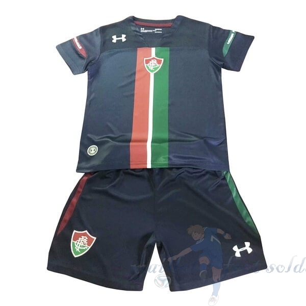 Pas Cher Maillot Foot Under Armour Third Ensemble Enfant Fluminense 2019 2020 Noir