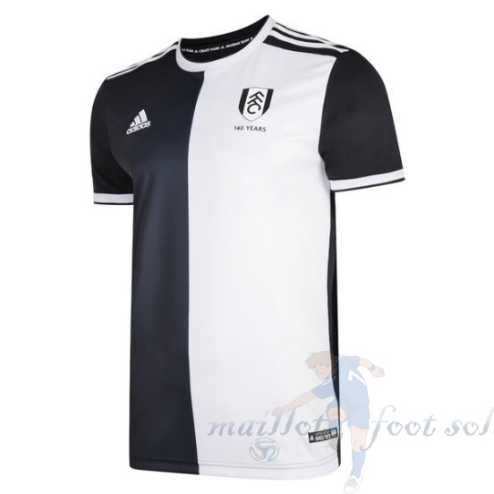 Pas Cher Maillot Foot Adidas Maillot Fulham 140Th Noir Blanc