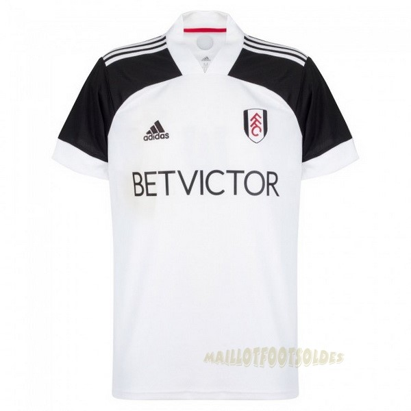 Pas Cher Maillot Foot adidas Domicile Maillot Fulham 2020 2021 Blanc