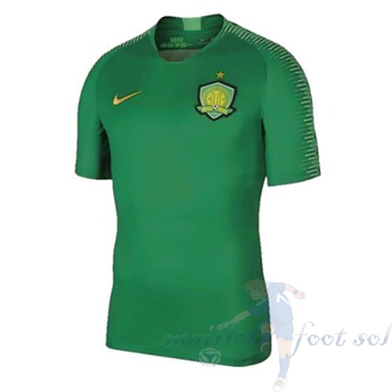 Pas Cher Maillot Foot Nike DomiChili Maillot Guoan 2019 2020 Vert