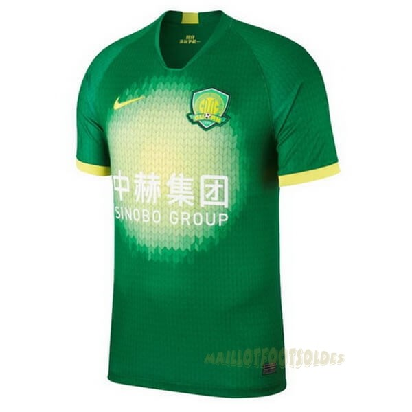 Pas Cher Maillot Foot Nike Domicile Maillot Guoan 2020 2021 Vert