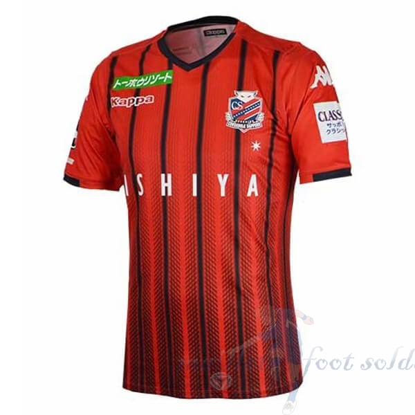 Pas Cher Maillot Foot Kappa Domicile Maillot Hokkaido Consadole SappOr 2019 2020 Rouge