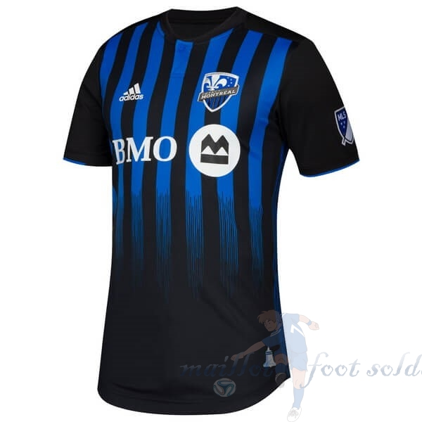 Pas Cher Maillot Foot adidas Domicile Maillot Montreal Impact 2019 2020 Bleu