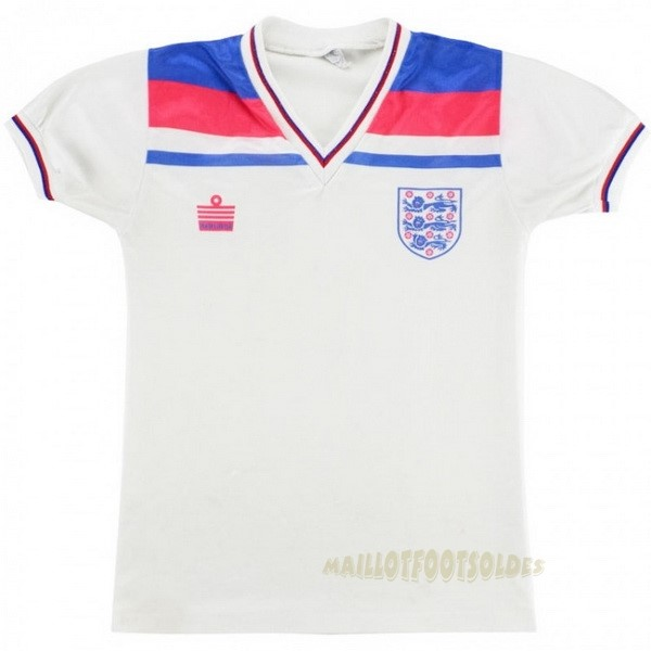 Pas Cher Maillot Foot Admiral Domicile Maillot Angleterre Rétro 1980 Blanc
