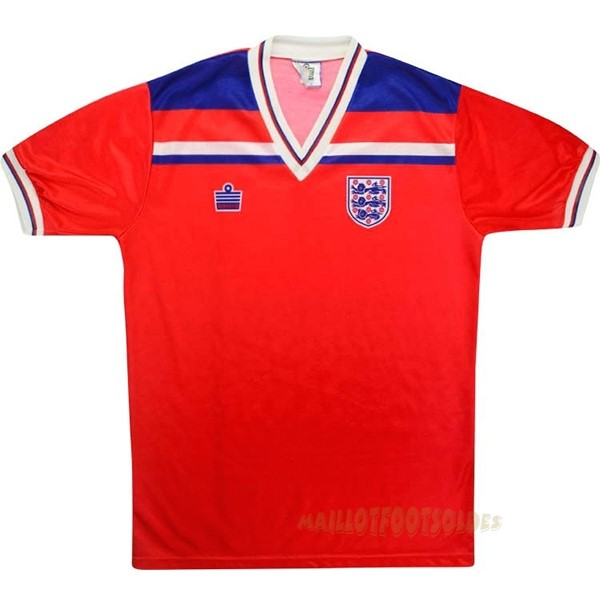 Pas Cher Maillot Foot Admiral Exterieur Maillot Angleterre Rétro 1980 Rouge