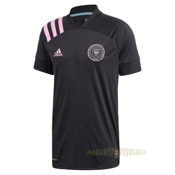 Pas Cher Maillot Foot adidas Domicile Maillot Inter Miami 2020 2021 Noir
