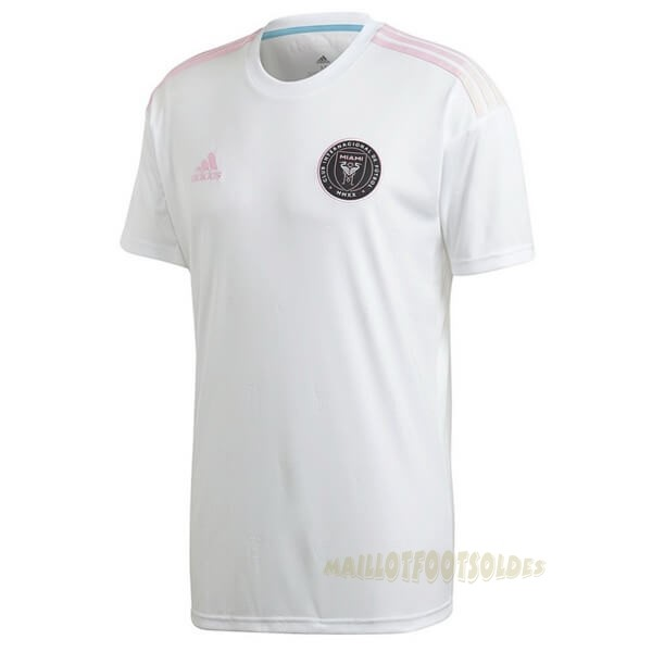 Pas Cher Maillot Foot adidas Exterieur Maillot Inter Miami 2020 2021 Blanc