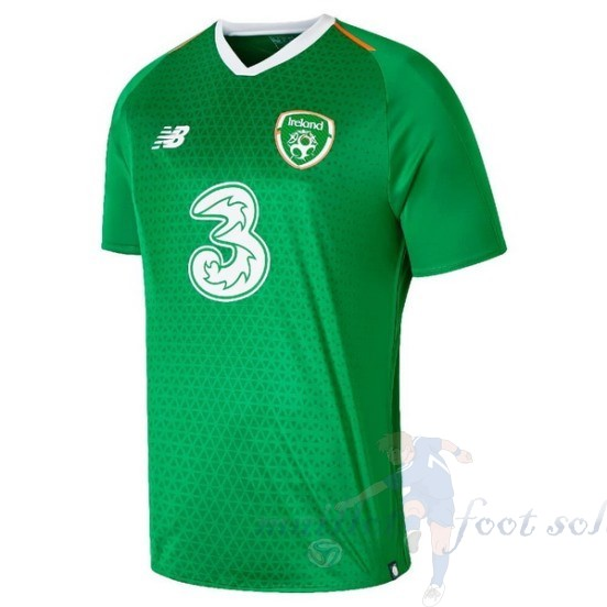 Pas Cher Maillot Foot New Balance Domicile Maillot Irlande 2019 Vert