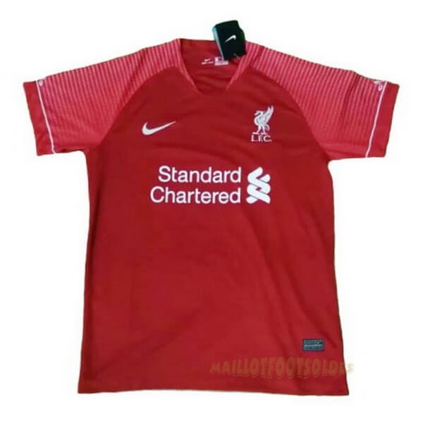Pas Cher Maillot Foot Nike Entrainement Liverpool 2020 2021 Rouge Marine