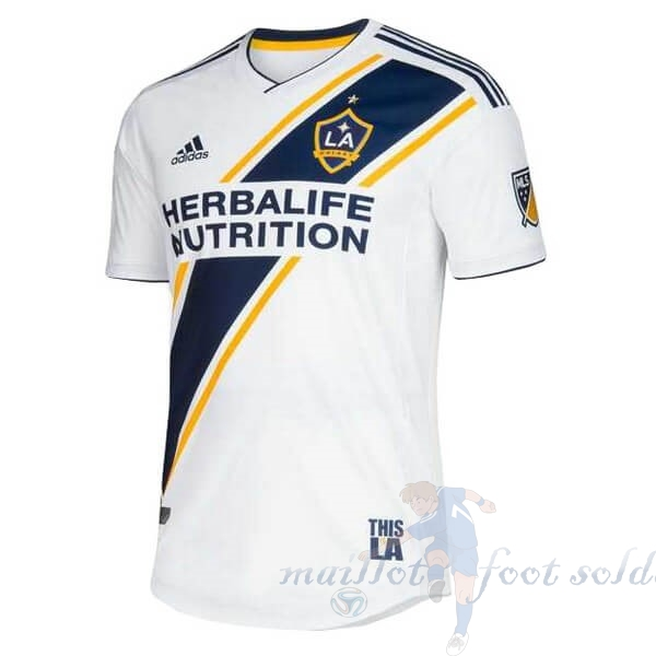 Pas Cher Maillot Foot adidas Domicile Maillot Los Angeles Galaxy 2019 2020 Blanc