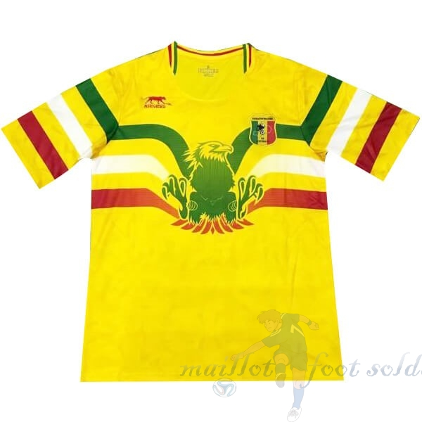 Pas Cher Maillot Foot Airness Domicile Maillot Mali 2019 Jaune