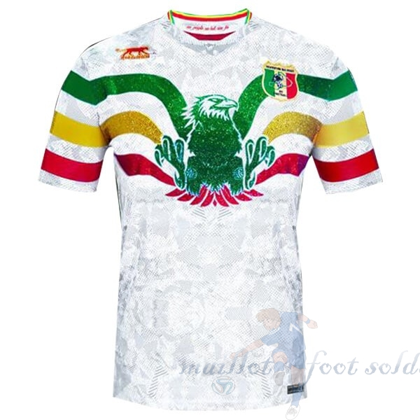Pas Cher Maillot Foot Airness Exterieur Maillot Mali 2019 Blanc