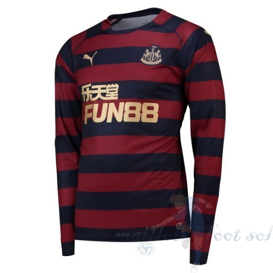 Pas Cher Maillot Foot Puma Exterieur Manches Longues Newcastle United 2018 2019 Rouge