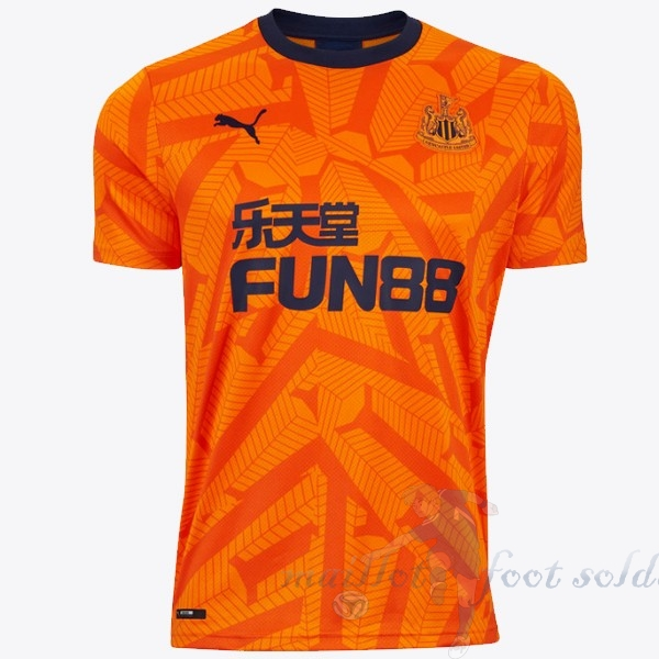 Pas Cher Maillot Foot Puma Third Maillot Newcastle United 2019 2020 Orange