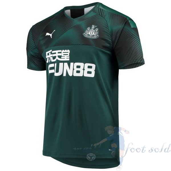 Pas Cher Maillot Foot PUMA Exterieur Maillot Newcastle United 2019 2020 Vert