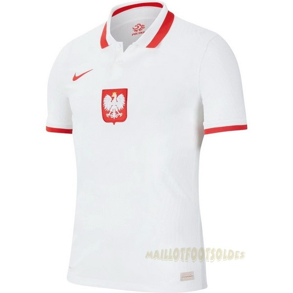 Pas Cher Maillot Foot Nike Domicile Maillot Pologne 2020 Blanc